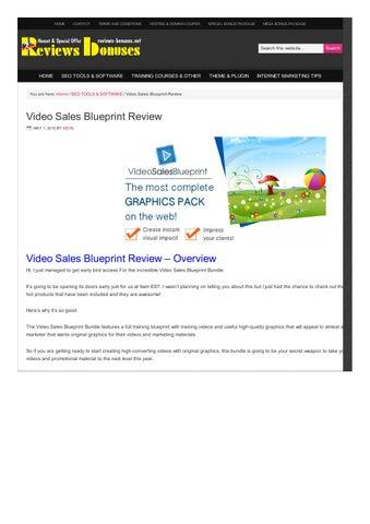 Bop harcourts blueprint by nzme issuu video sales blueprint reviews bonuses malvernweather Choice Image