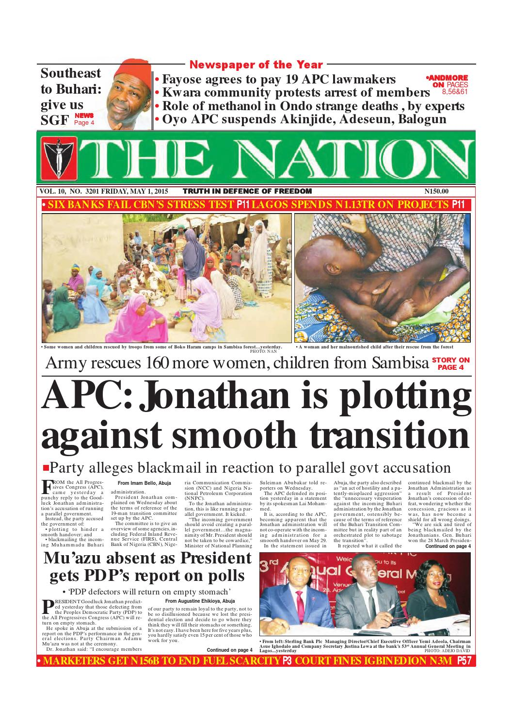 May 01 2015 by the nation issuu