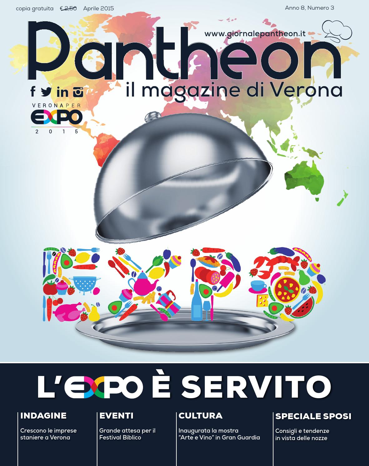 Pantheon 59 - L Expo è servito by Pantheon Verona Network - issuu fb75b5fe1453