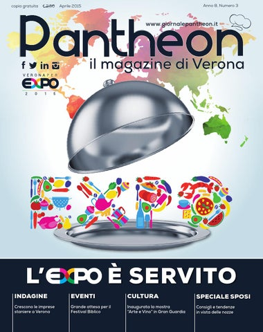 Pantheon 59 - L Expo è servito by Pantheon Verona Network - issuu e994d222fa06
