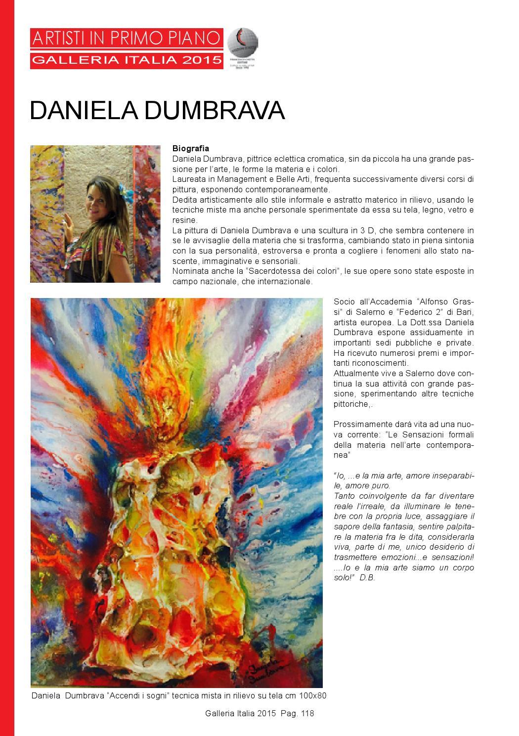 Galleria Italia 2015 Speciale 56 Biennale Di Venezia By Francesco Chetta Editore
