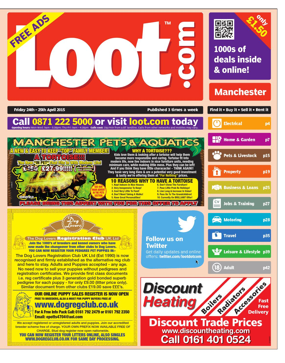 03855ab3118 Loot Manchester