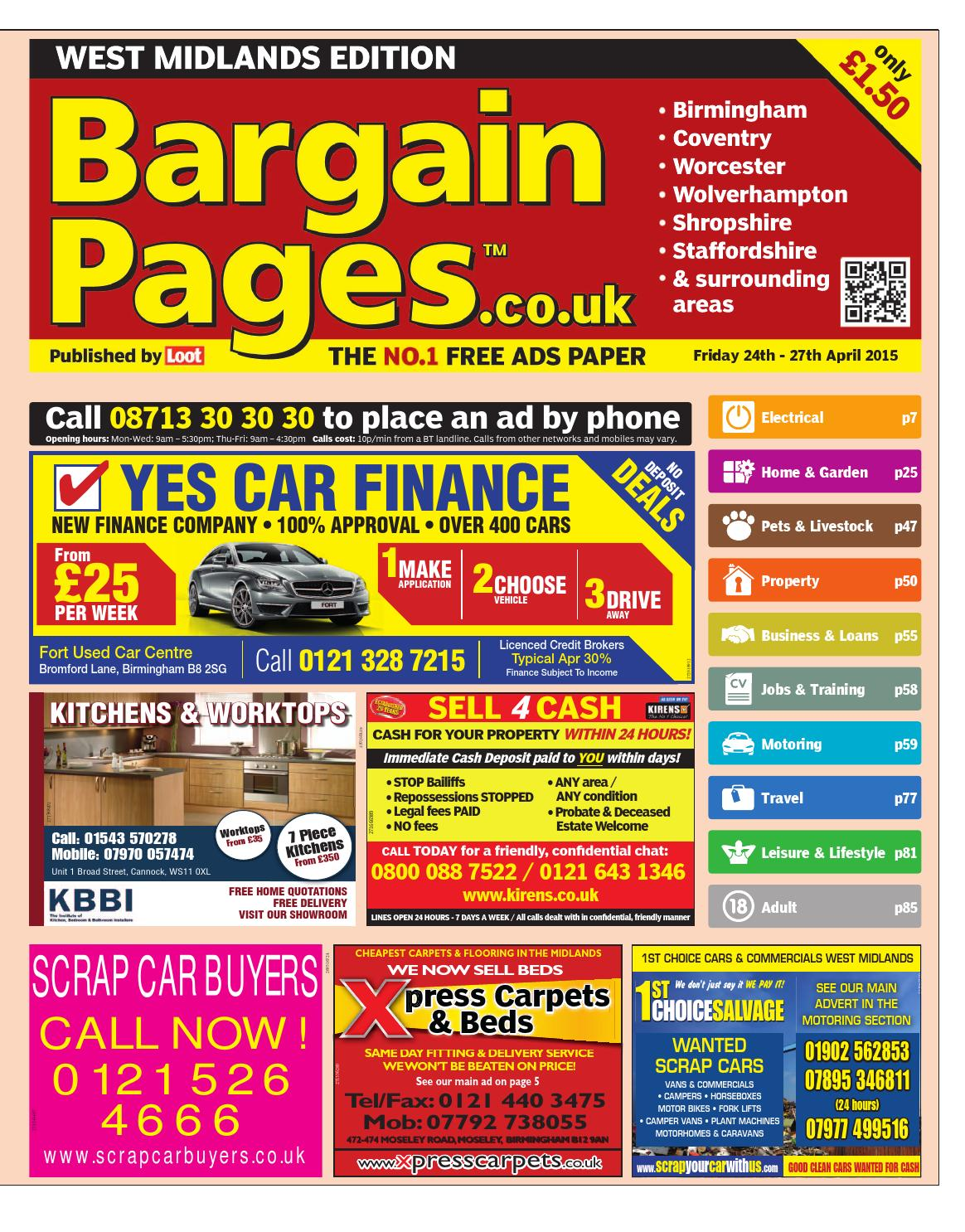 Bargain Pages West Midlands 713fae872