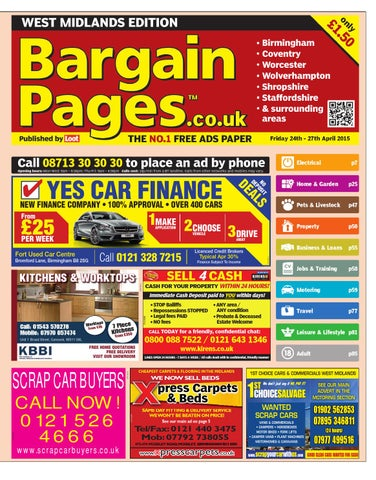 a2e12afc1183 Bargain Pages West Midlands