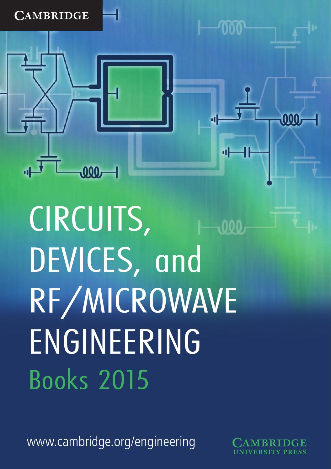 Circuits Devices And Rf Microwave Engineering Books 2015 By Circuit Theoscillatorcircuitoftheradiofrequencybutler Cambridge University Press Issuu