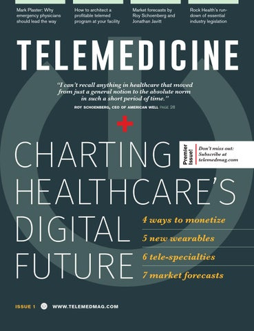 Telemedicine Magazine Issue 1 by Telemedicine Magazine - issuu
