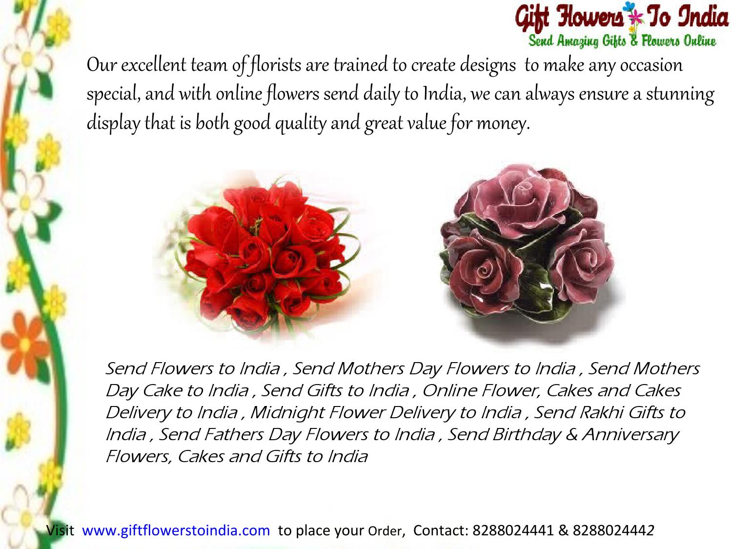 Send flowers and gifts to india by giftflowerstoindia issuu izmirmasajfo