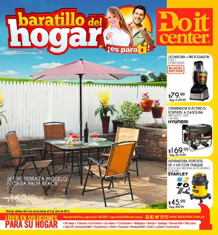 Cat logo de ofertas doit center panam 2015 by interiores estilo issuu - Muebles martin catalogo ...