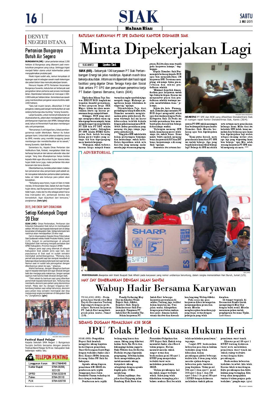 Haluanriau 15 15 15 by Haluan Riau   issuu