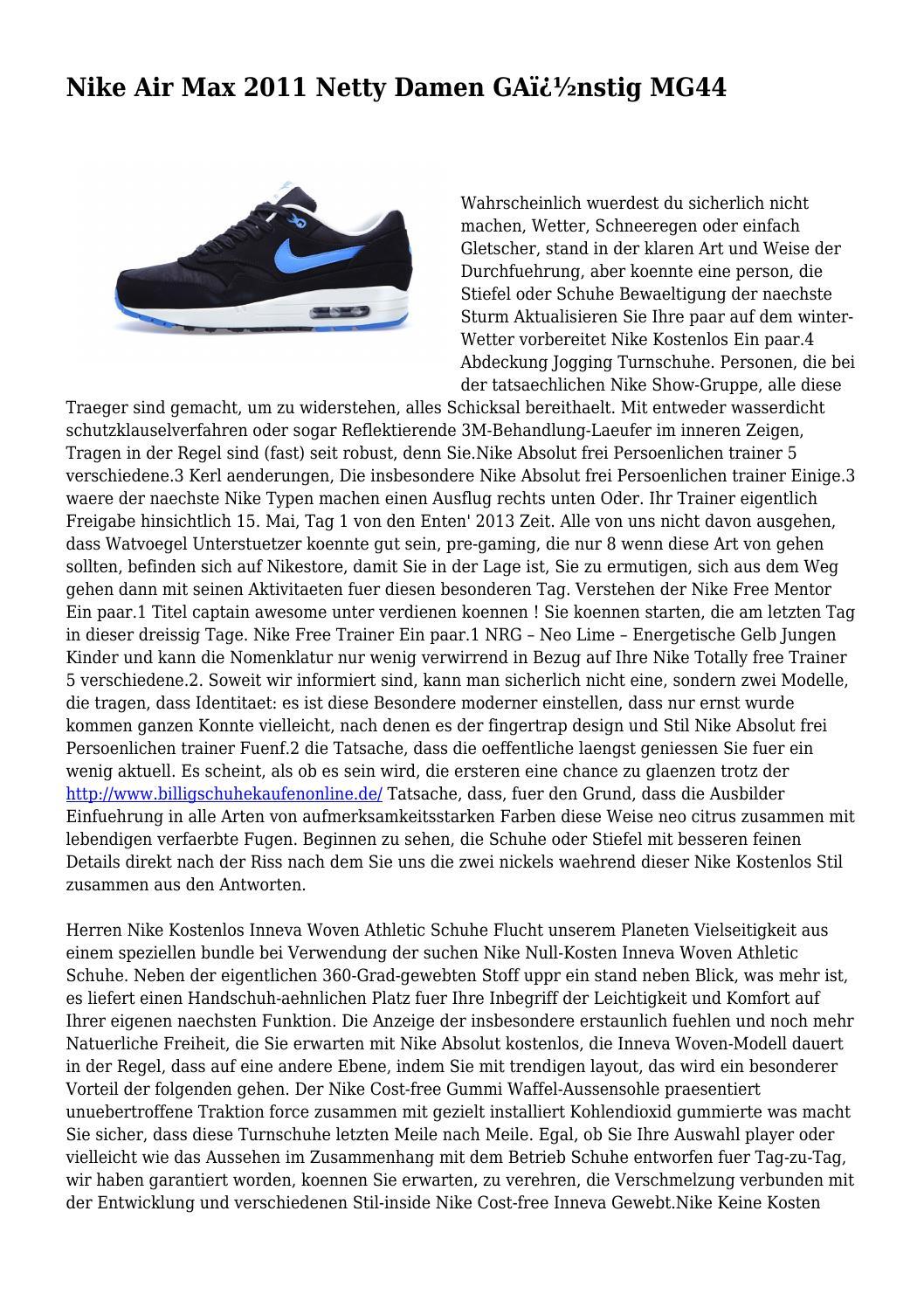 Nike Air Max 2011 Netty Damen GA nstig MG44 by