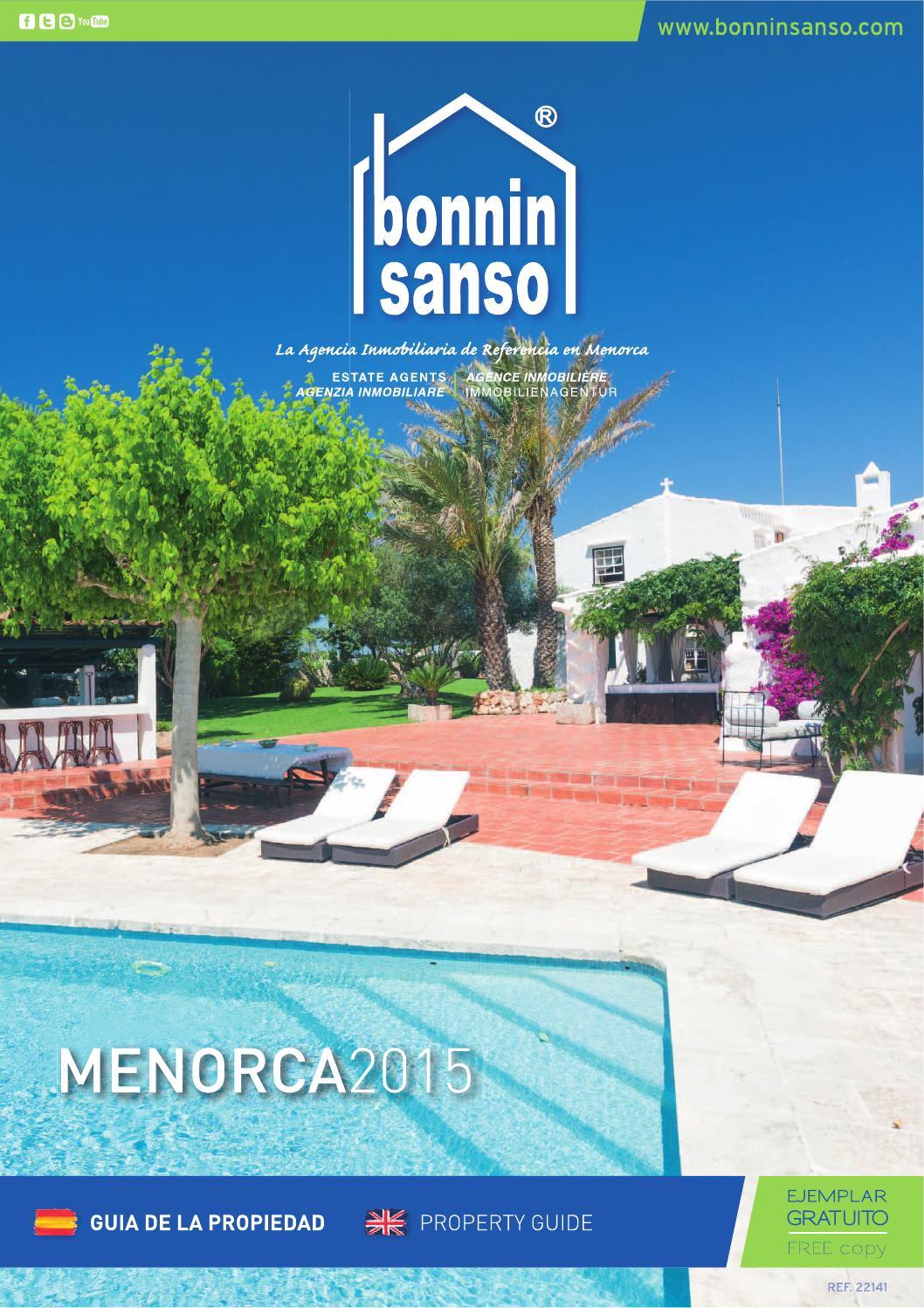 Bonnin sanso property guide 2015 by bonnin sanso estate - Bonnin sanso menorca ...