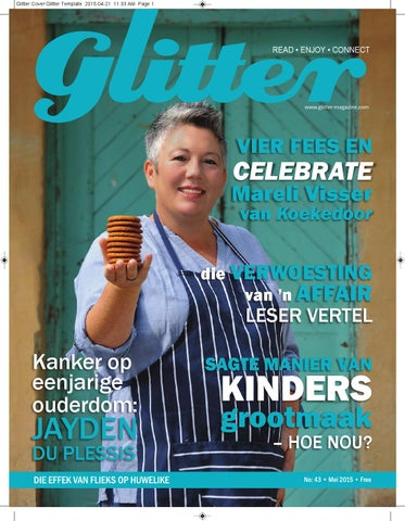 "Cover of ""Glitter may 2015"""