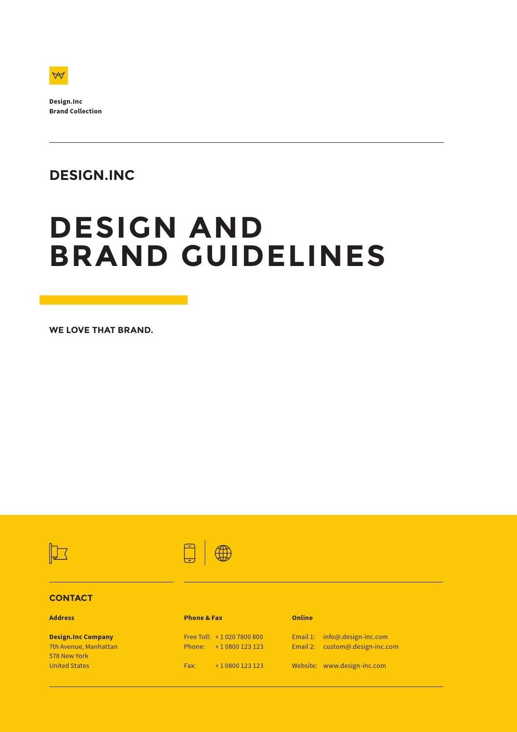 Brand Manual Guide by egotype - issuu