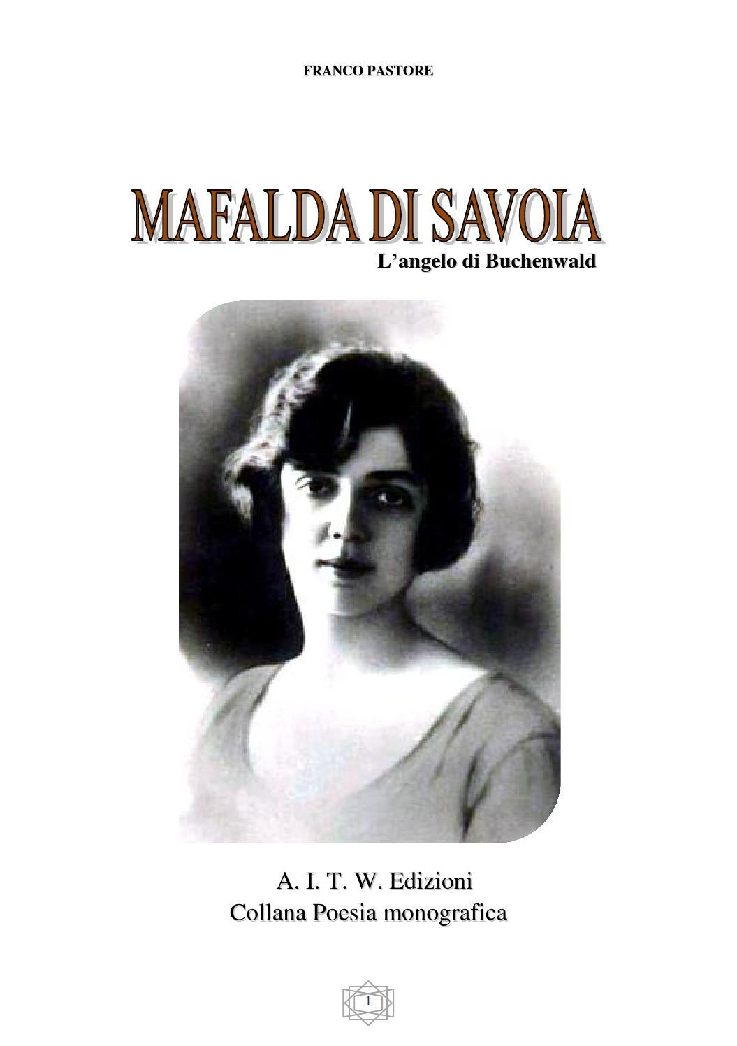 Mafalda di savoia by antropos in the world - issuu