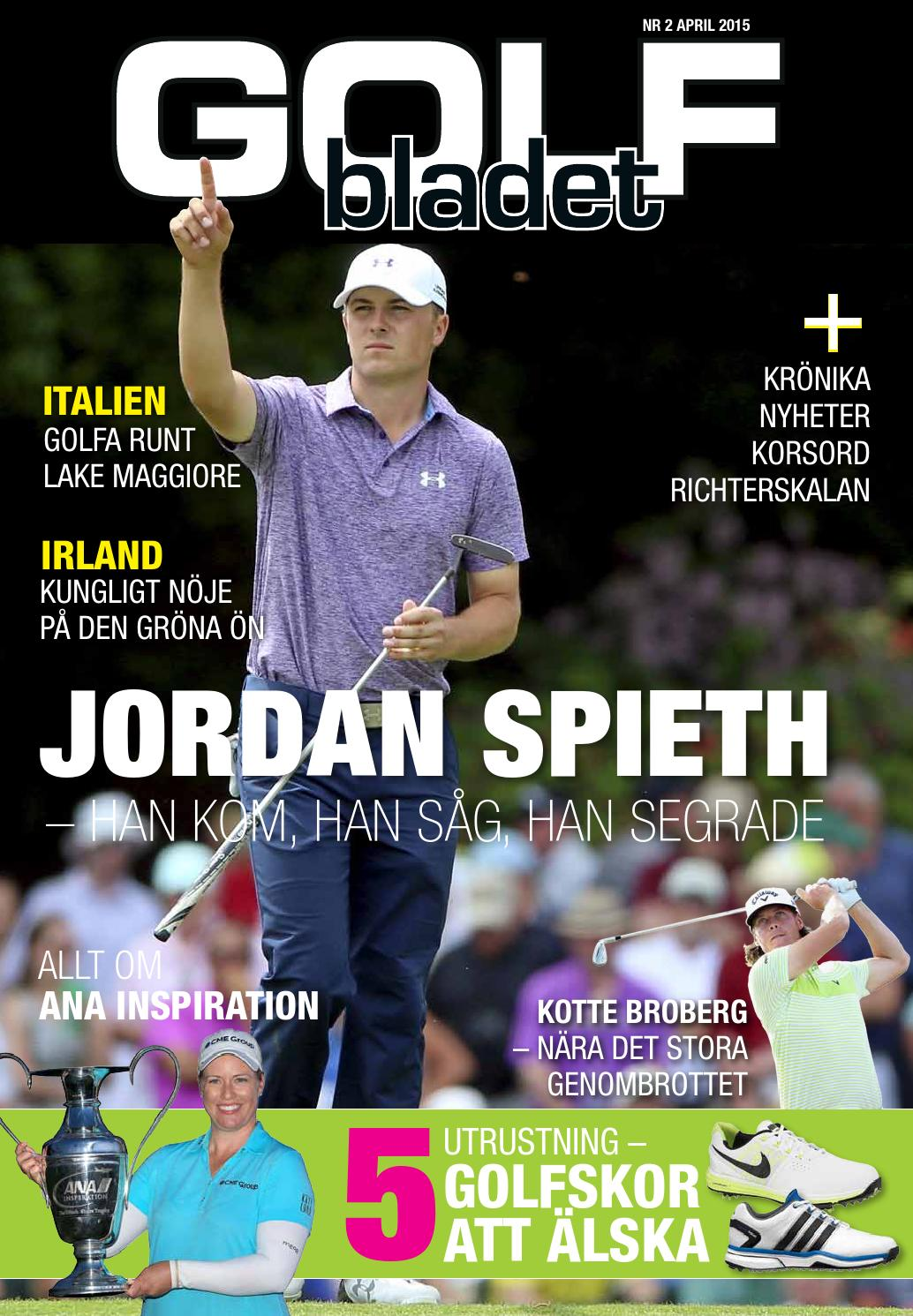 finest selection 6df75 8d1f2 Golfbladet 2015 2 by Fredrik Richter - issuu