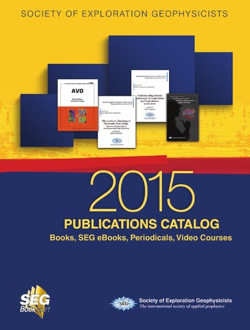 Society of exploration geophysicists 2015 publications catalog by page 1 fandeluxe Gallery