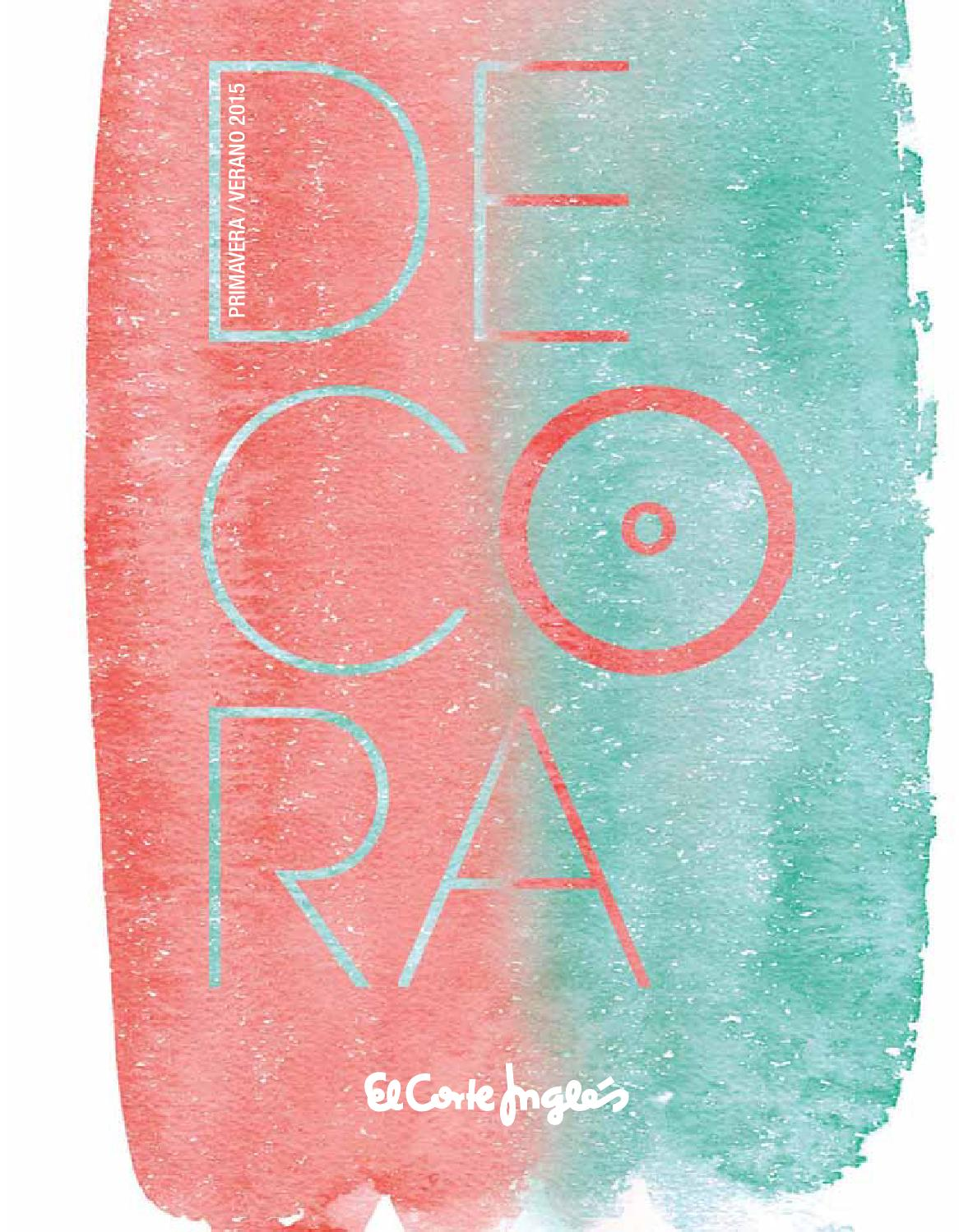 El corte ingl s decora 2015 by andr gon alves issuu - Decora el corte ingles ...
