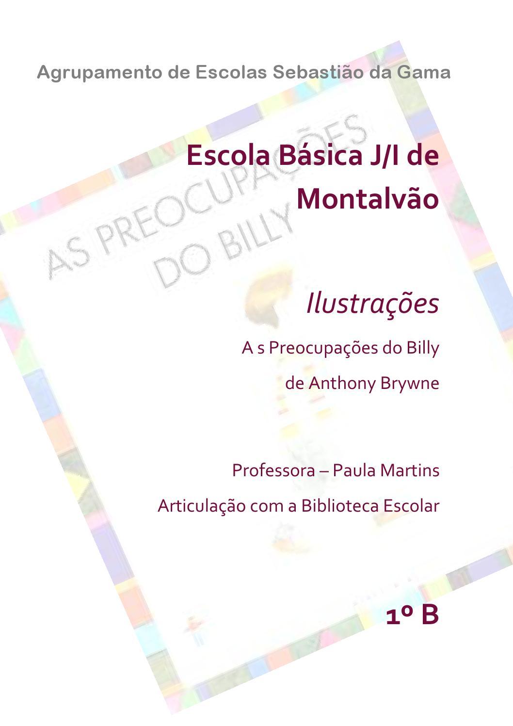 Livro as preocupações do billy by Bibliotecas do