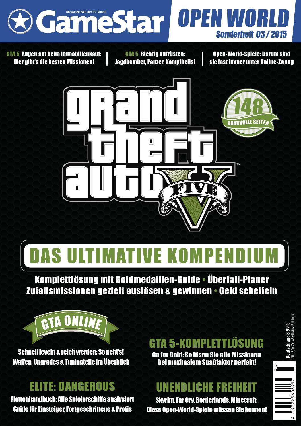 Gamestar Sonderheft 03 2015 Gta V By Minigames Issuu