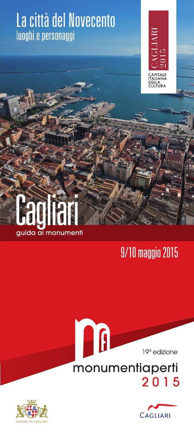 Cagliari 2015 By Monumenti Aperti Issuu
