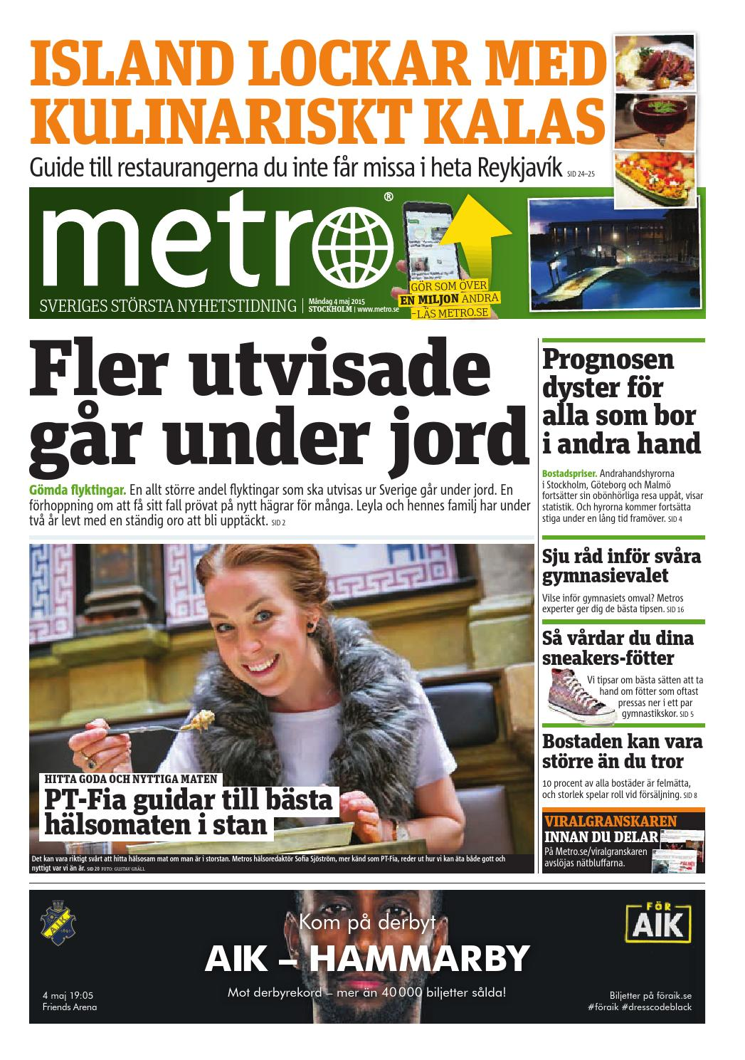 20150504 se stockholm by Metro Sweden - issuu bfcaaa4185ce9