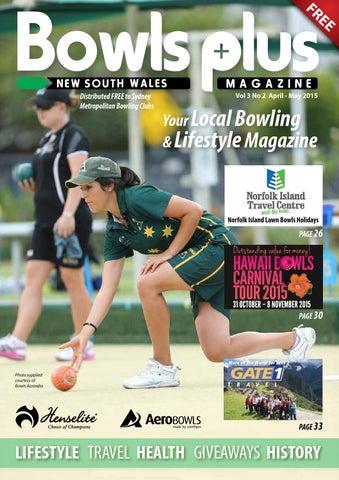 New South Wales Bowls Plus April May 2015 By David Jones