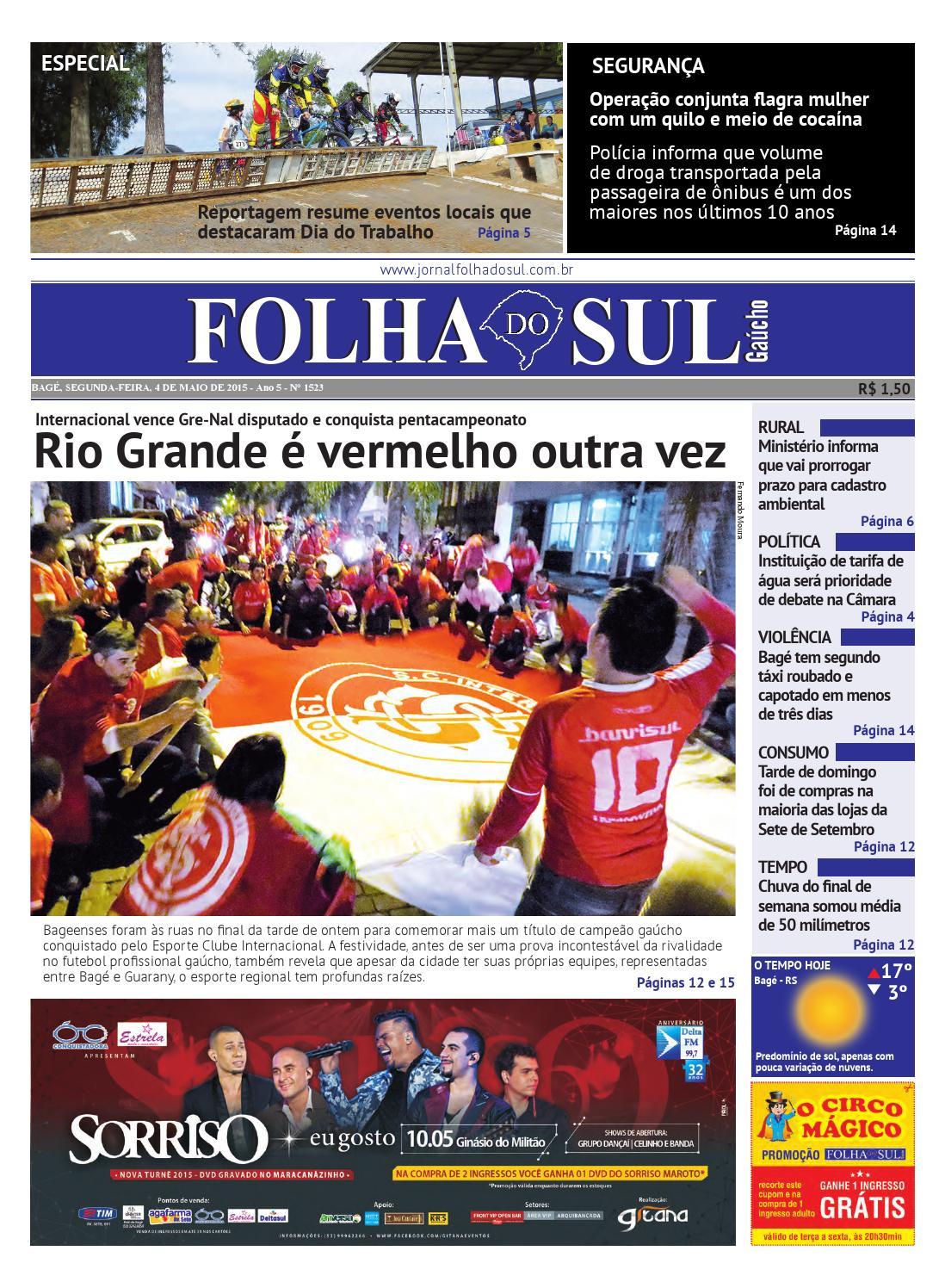e82b12caf Edição 04 05 15 by Folha do Sul Gaúcho - issuu