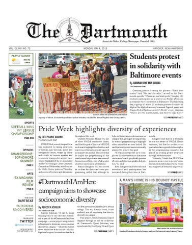 The Dartmouth 05/04/15 by The Dartmouth Newspaper - issuu