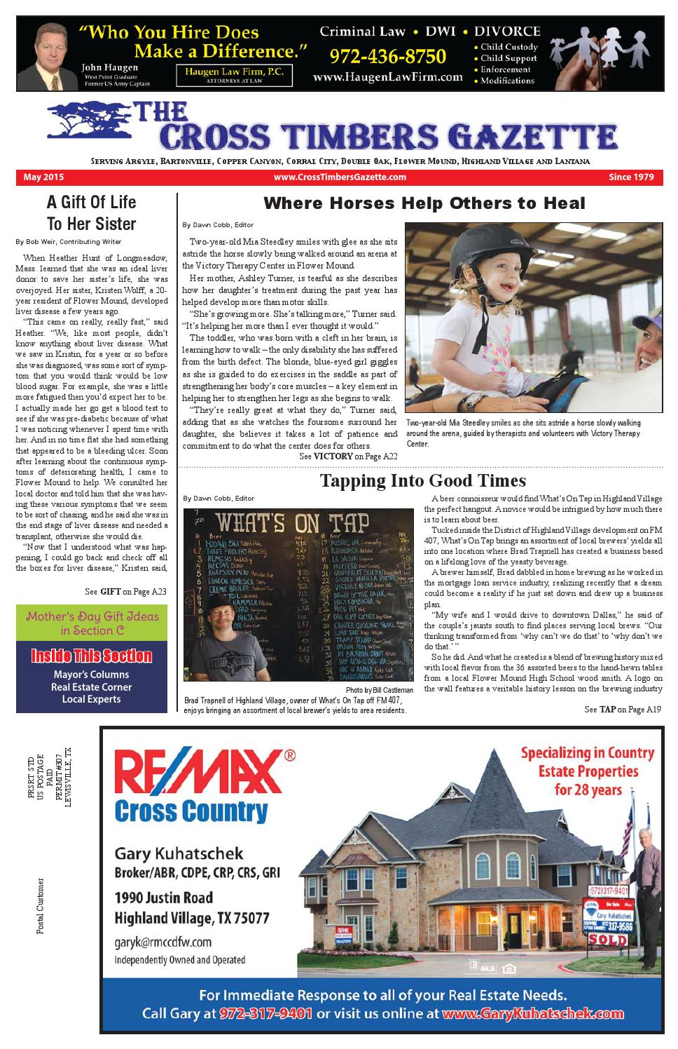 The Cross Timbers Gazette May 2015 By Issuu 10113 Painless Fuse Box