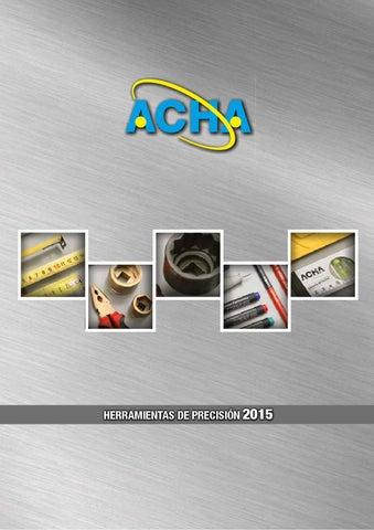 Acha Catálogo 2015 by ACHA Herramientas - issuu 0a476ff9ca9a