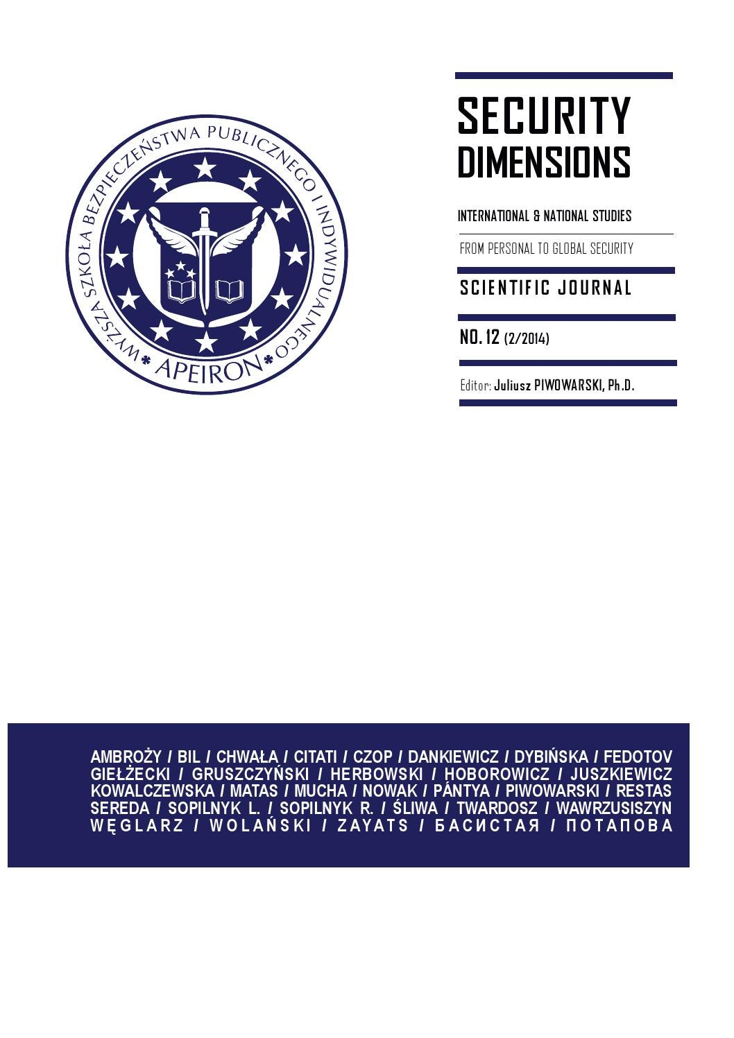 SD12 by Security Dimensions - issuu