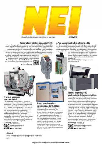 e37ce13bcd6 Revista NEI - Edição Maio 2015 by Revista NEI - issuu