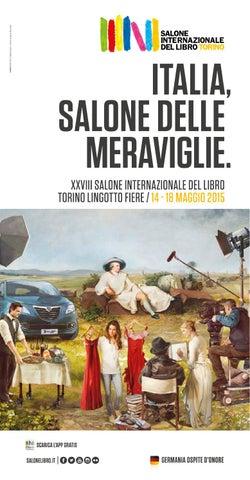 Libro Salone 2015 Internazionale Xxviii Di Torino Programma Del By 6Ib7gfyvY