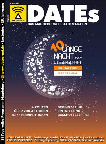 Dates Magdeburg Mai 2015 By Dates Medien Verlag Gmbh Issuu