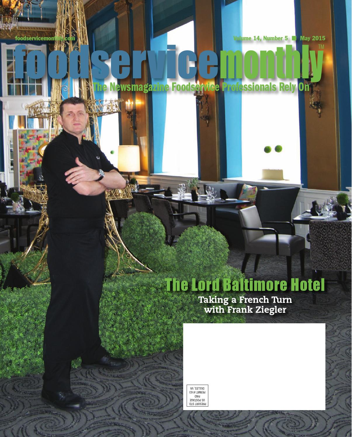 Food Service Monthly By Silver Communications