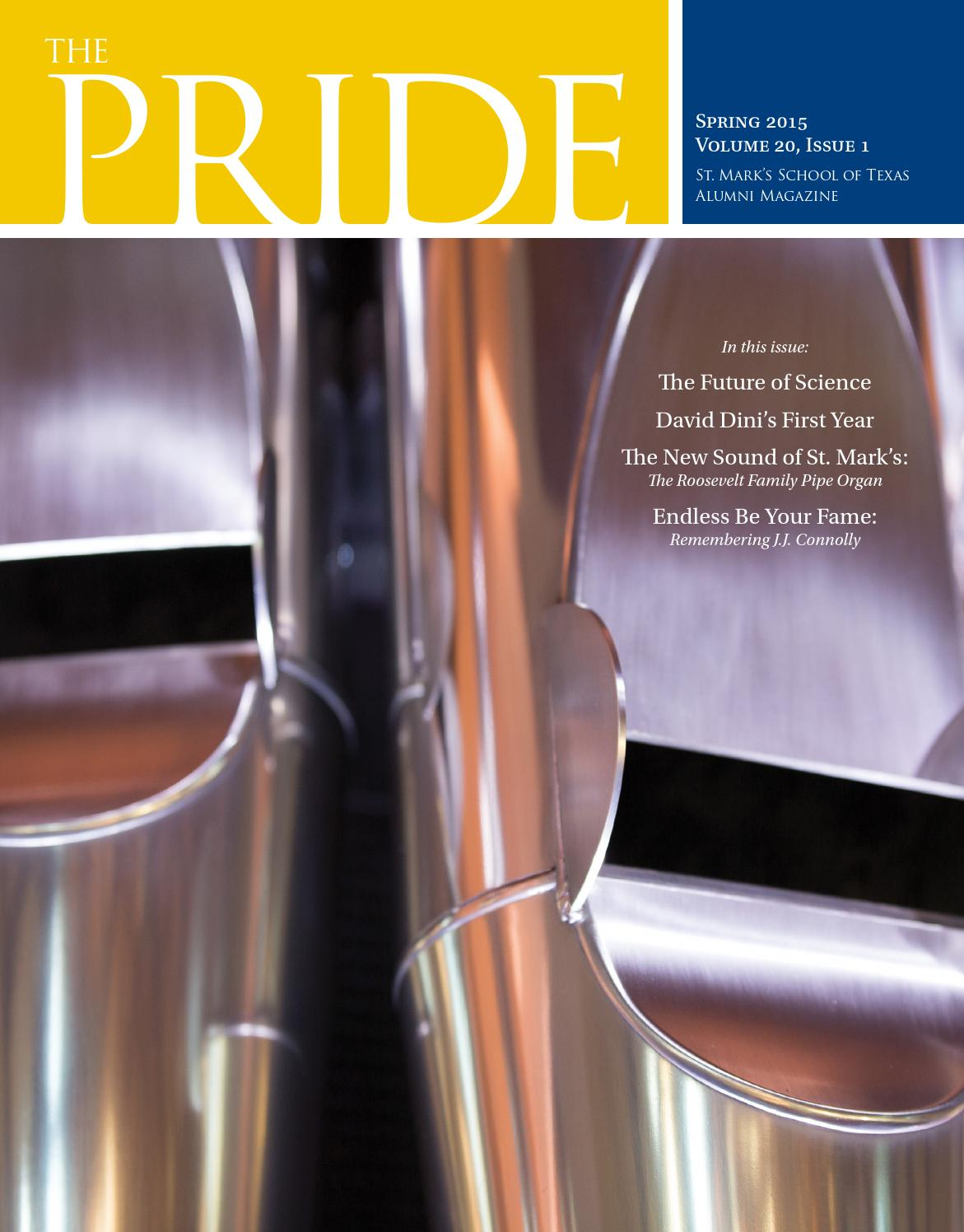 Texas By Issuu - The Spring Of 2015 Pride School Mark's St