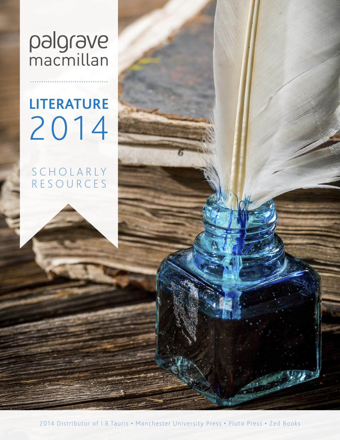 Literature catalogue 2014 by palgrave macmillan humanities issuu fandeluxe Choice Image