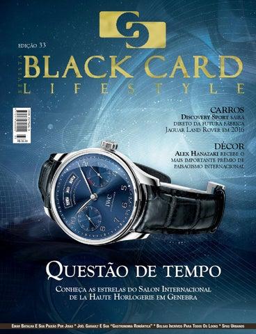 7ccf8bfa5ce Revista Black Card Lifestyle - Edição 33 by Revista BlackCard ...