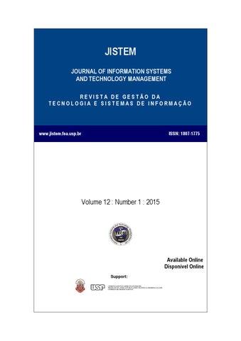 Volume X Number II by Laborat³rio de Tecnologia e Sistemas de