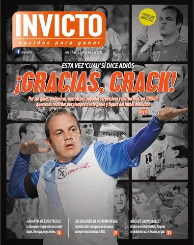 Edición 4 de INVICTO by Invicto - issuu 44357d4eb0dd8
