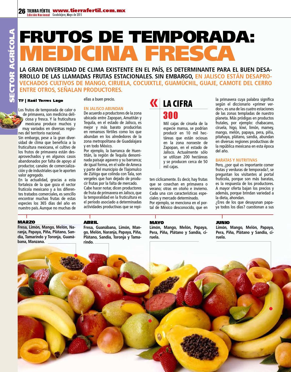 Dieta de papaya pitaya y guanabanas