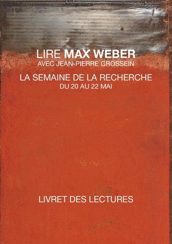 Livret Des Lectures Mai2015 By Faculté Economie Politique Société