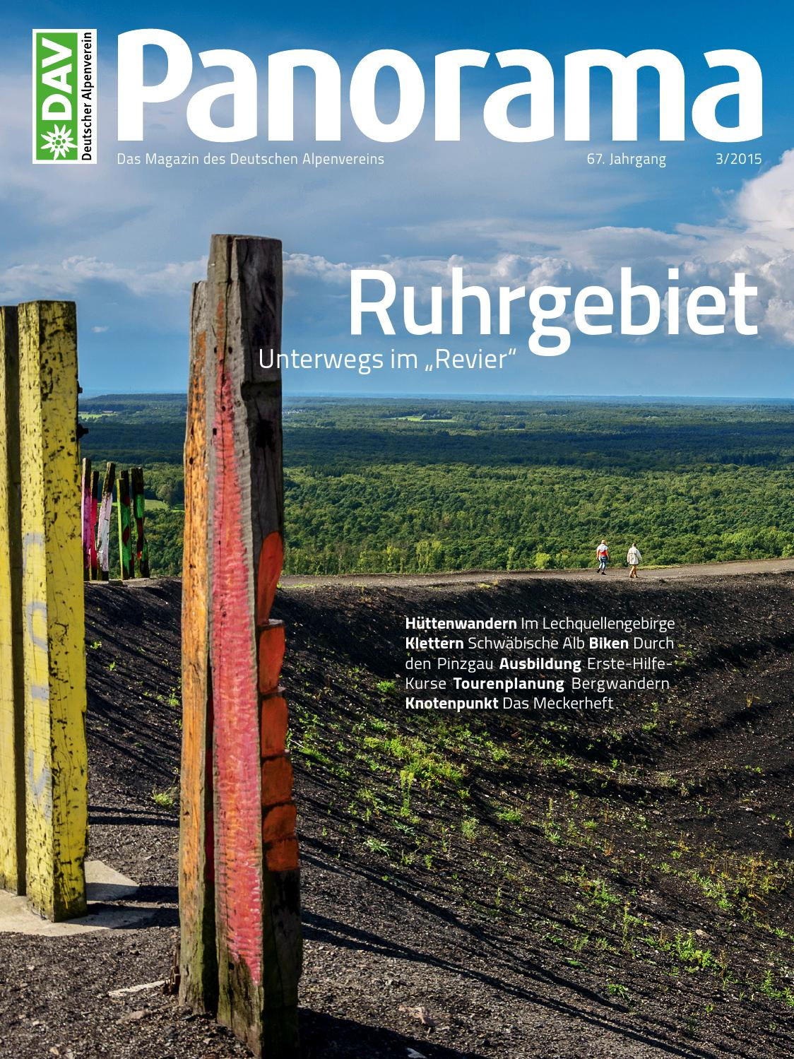 DAV Panorama 3/2015 by Sensit Communication GmbH - issuu