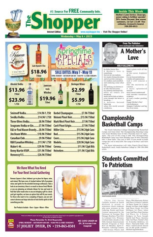 7373a4643 The Shopper 5/6/15 by The Shopper - issuu