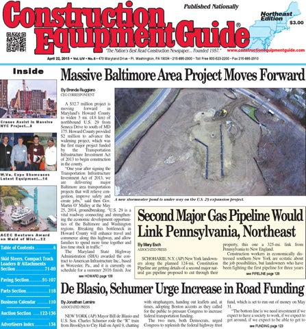 Northeast 08 2015 by Construction Equipment Guide - issuu on