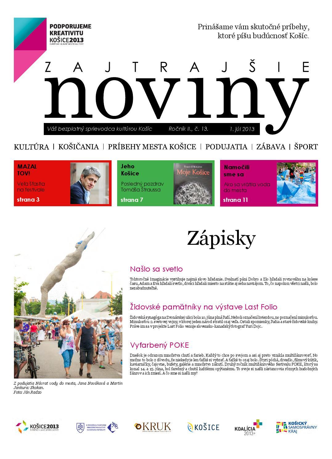 4646281ffe Zajtrajšie noviny 13 2013 by Zajtrajšie noviny - issuu