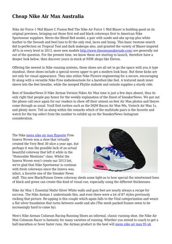 new photos buy online best place Cheap Nike Air Max Australia by squeamishdrink344 - issuu