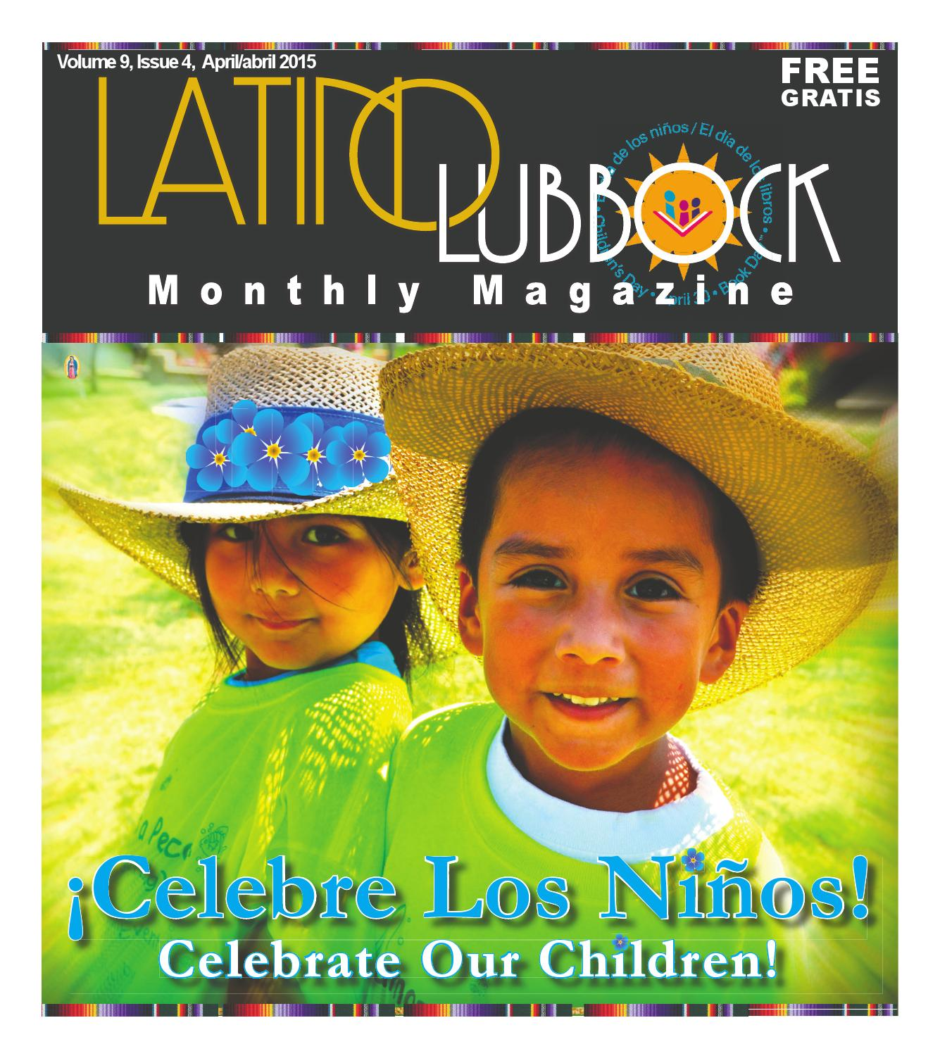Latino Lubbock Magazine Vol 9 Issue 5 May Mayo 2015 By Christy  # Muebles Dolores