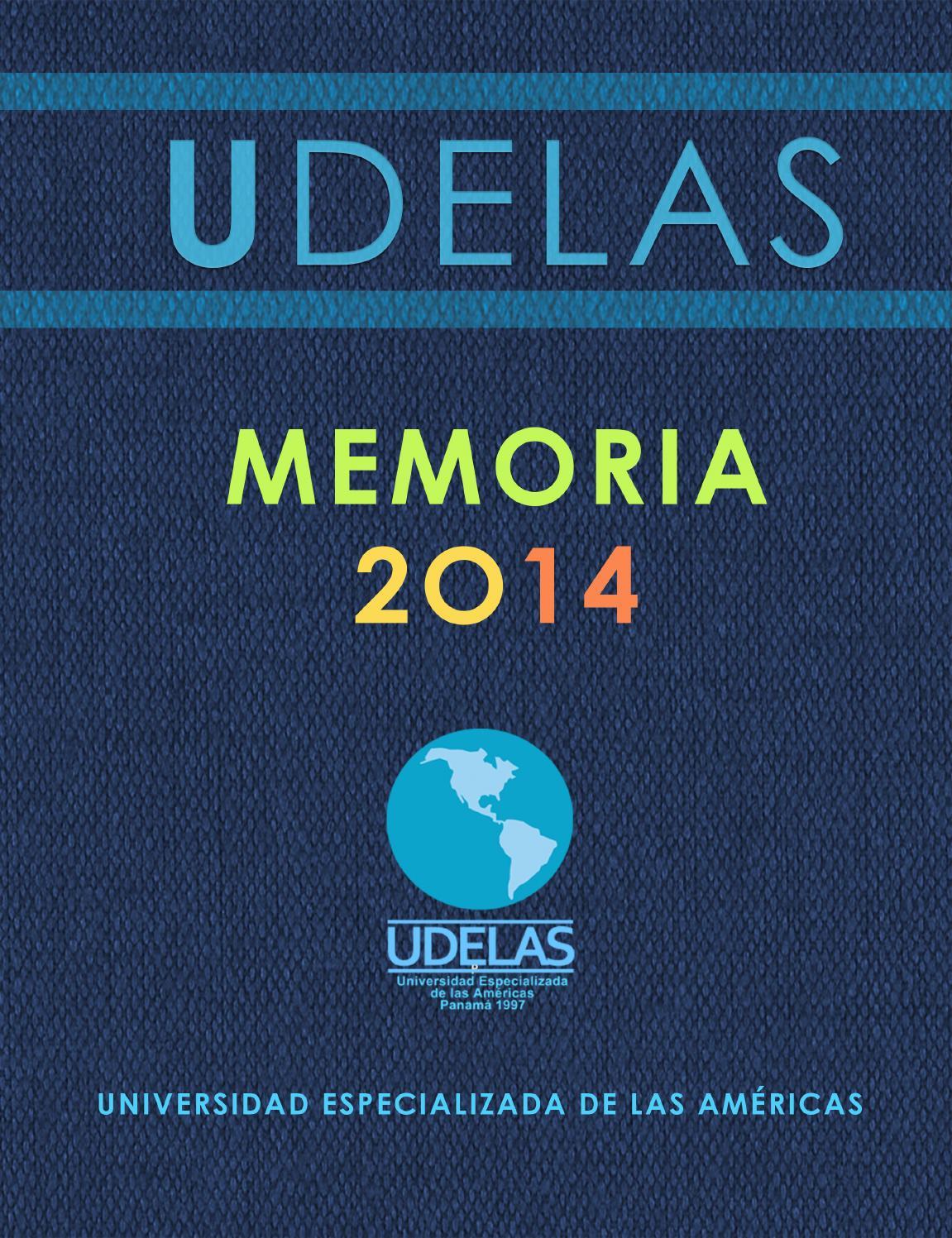 Memoria udelas 2014 by marco bernuy - issuu
