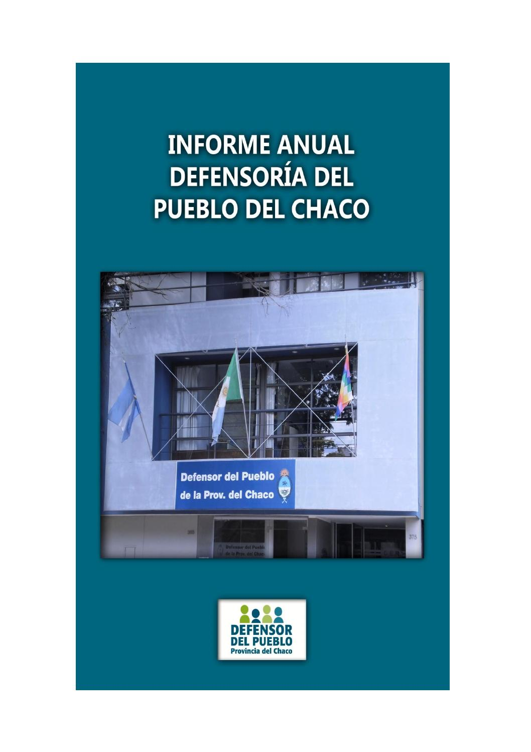 Informe anual defensor a del pueblo by defensor del pueblo for Oficina del defensor del pueblo